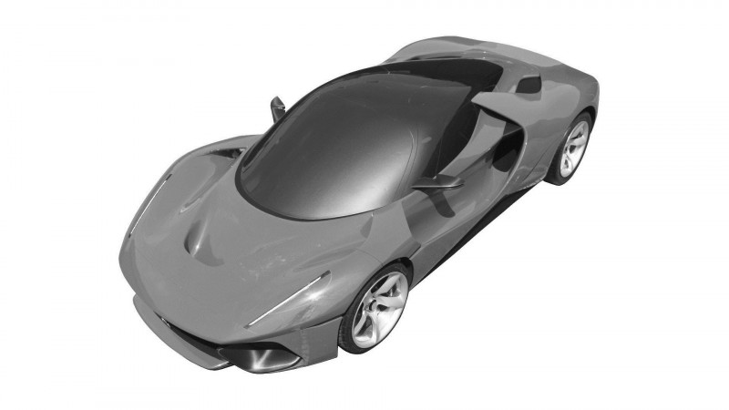 Ferrari may be working on a LaFerrari-based concept