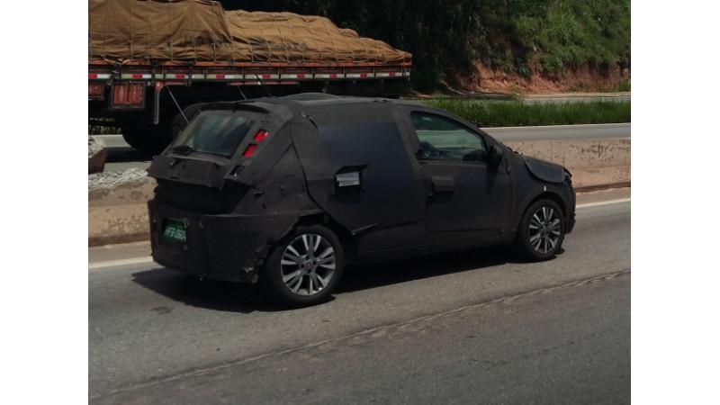 Next-gen Fiat Punto spotted on test in Brasil