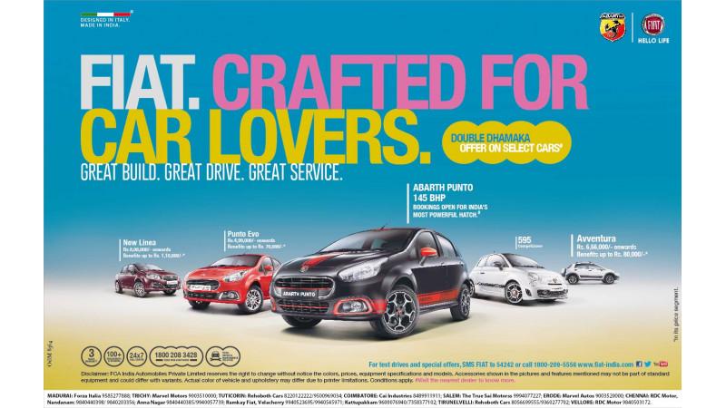 Fiat India announces lucrative offers this festive season