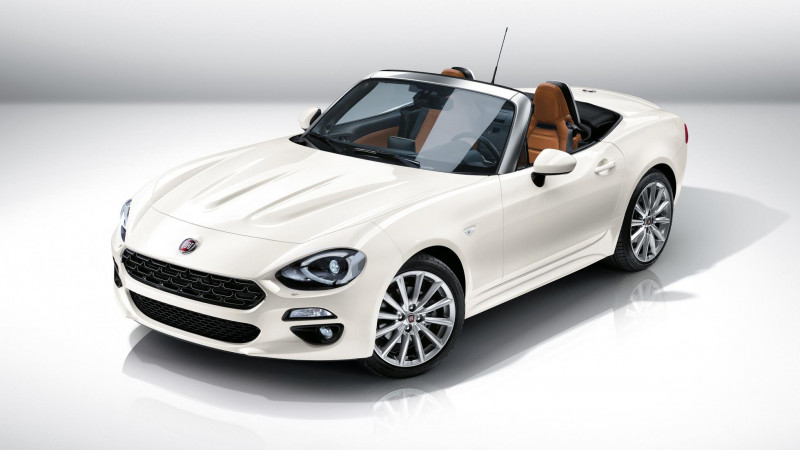 Fiat launches 124 Spider in the US