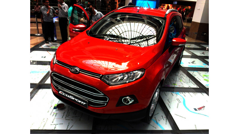 Ford EcoSport launched at Rs. 5.59 lakh