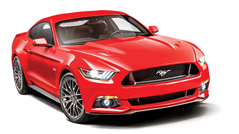Ford Mustang due for launch on 28th January