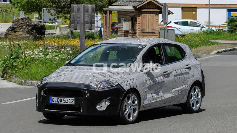 Ford starts testing the next-gen Fiesta in Europe