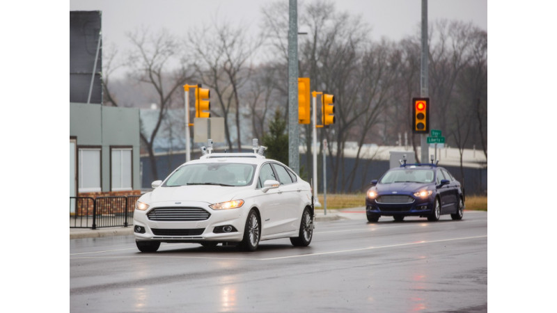 Ford working on fully autonomous vehicle for ride sharing in 2021