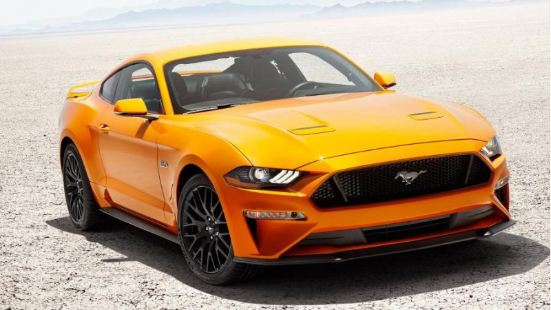 US spec 2018 Ford Mustang gets unveiled