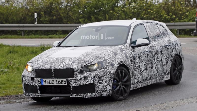 Sportier BMW 1 Series version caught testing