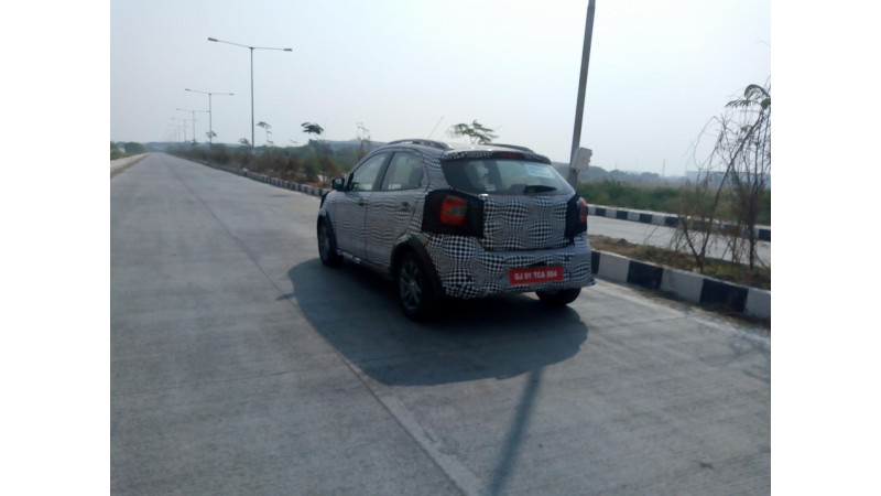 Ford spotted testing all-new Figo Cross in India