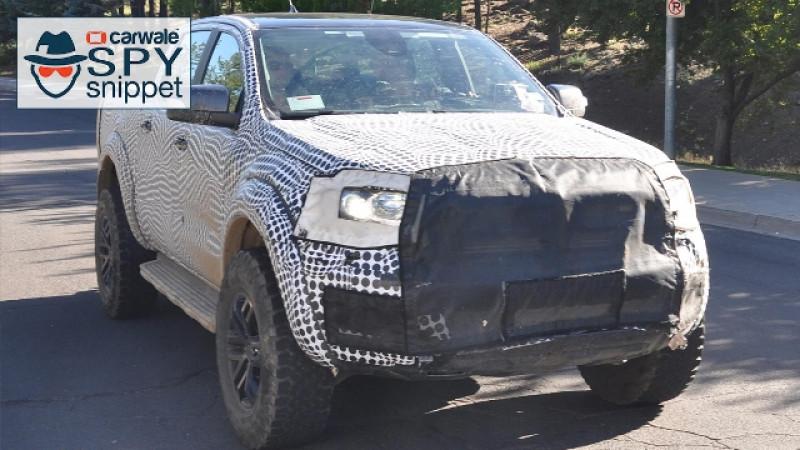 Ford Ranger Raptor spied testing in US