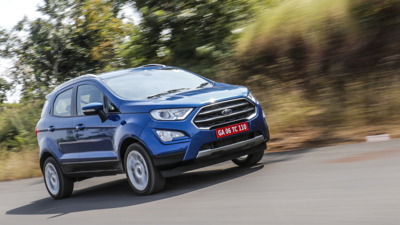 Ford launches 2017 EcoSport in India at Rs 7.31 lakhs