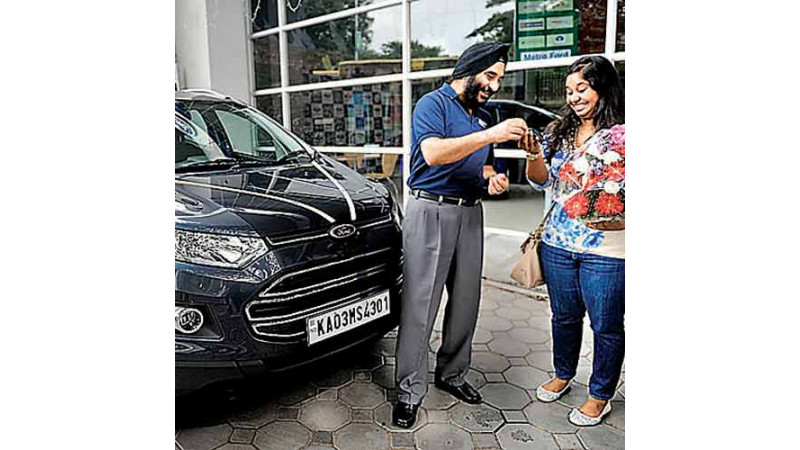 Deliveries of Ford EcoSport starts in Bengaluru