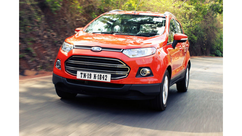 Ford EcoSport safety features are the first in its segment