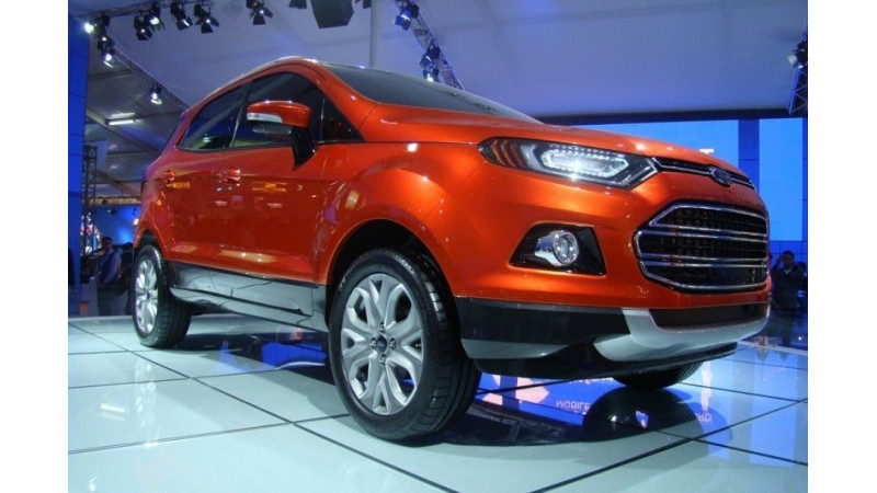 Ford EcoSport to pump Ford's sales in the Indian auto market