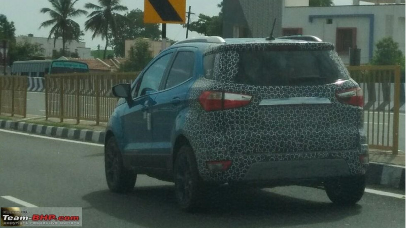 Ford Continues Testing 2018 Ecosport Cartrade