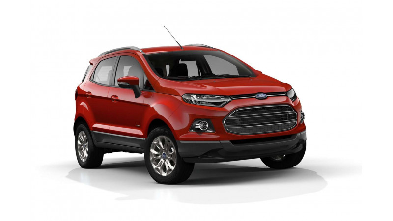 Launch of Ford EcoSport seems just around the corner