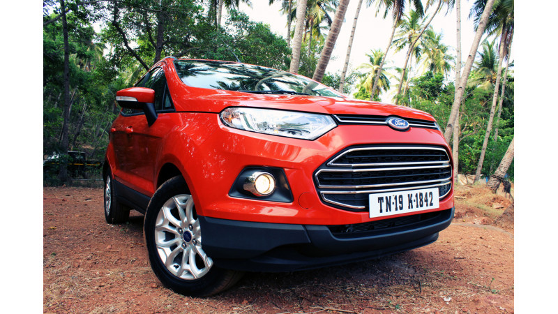 Ford EcoSport prepares to take on the SUVs of India