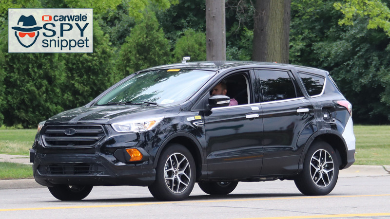 2019 Ford Escape spotted testing in US