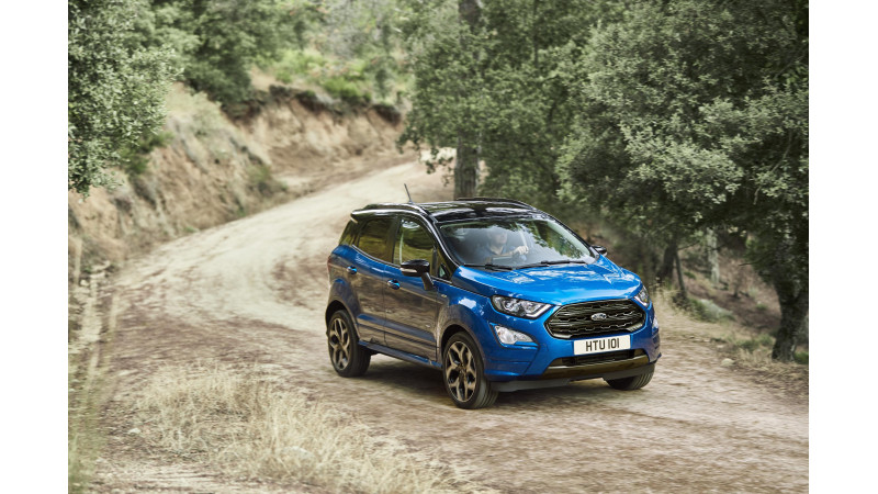 New European spec Ford EcoSport breaks cover
