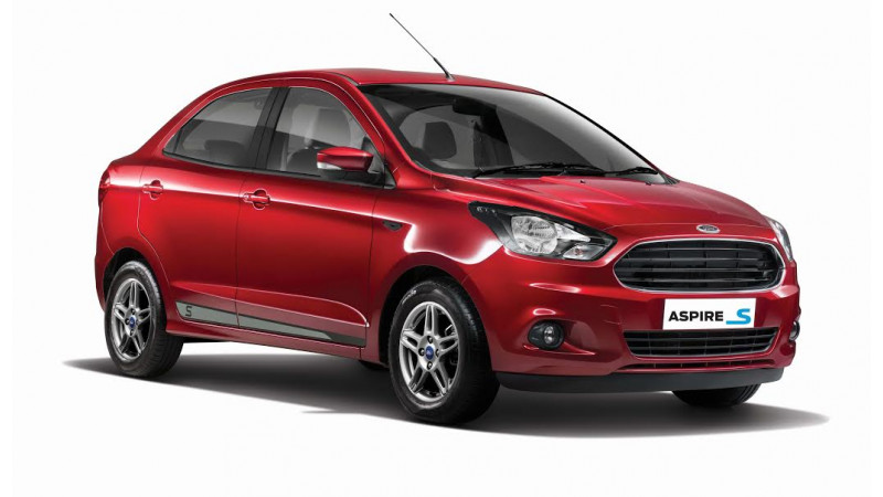 Ford Figo and Aspire Sports edition launched, starts at Rs 6.31 lakh