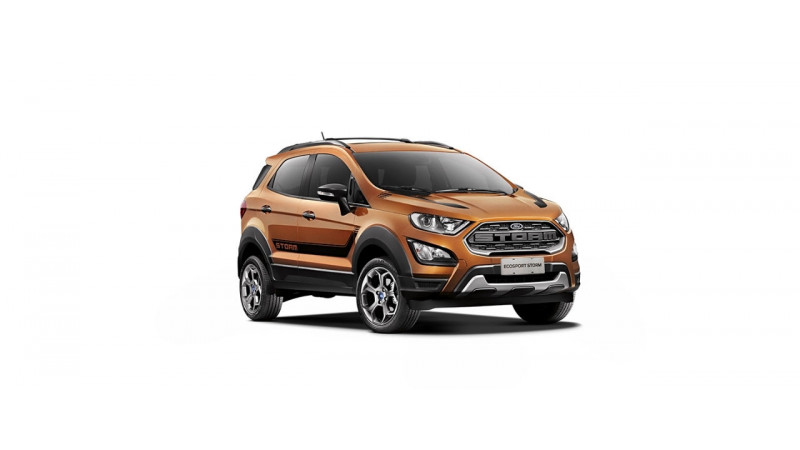 Ford Unveils 2018 Ecosport Storm In Brazil Cartrade