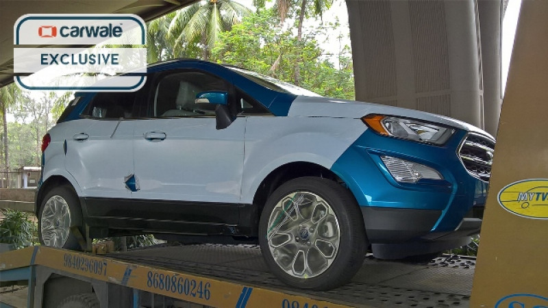 2018 Ford EcoSport spotted in India