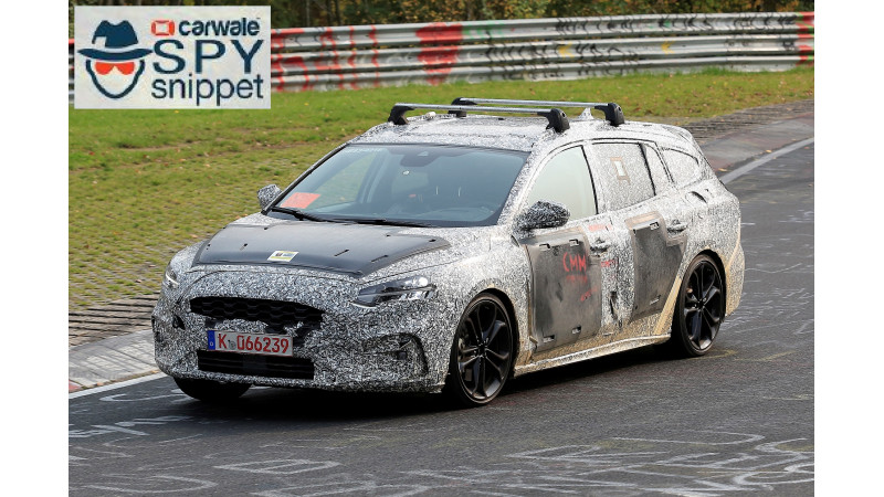 2018 Ford Focus estate spied