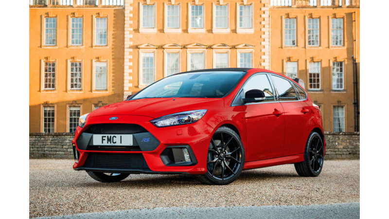 Ford UK opens bookings for the Focus RS Red Edition