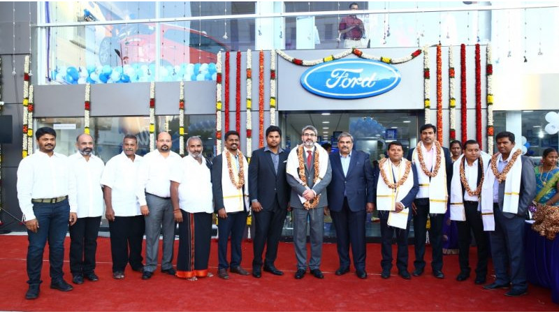 Ford opens a new dealership in Chennai