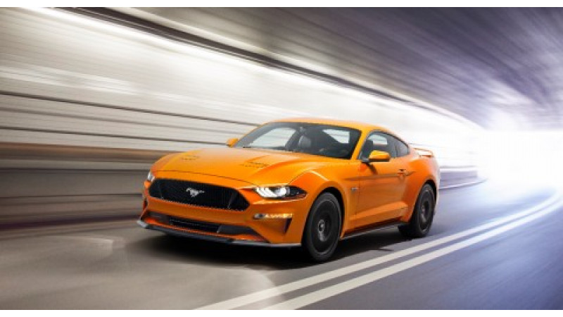 2018 Ford Mustang 5.0 GT unveiled