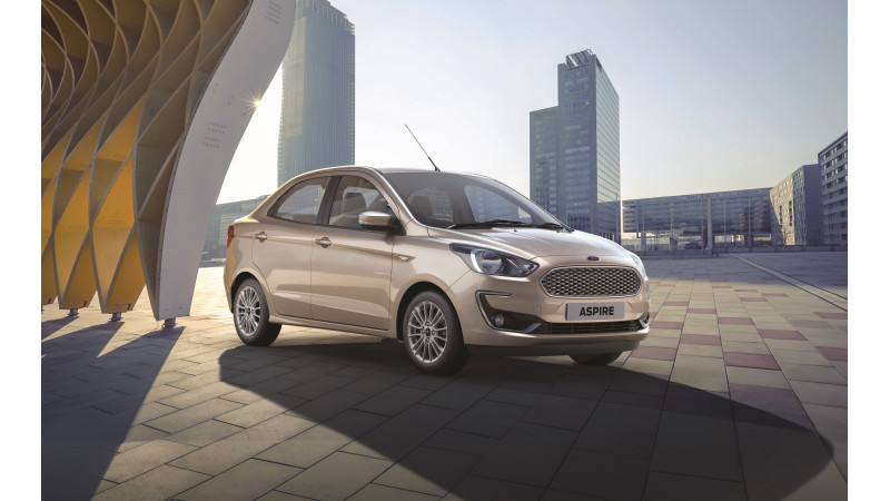 Ford Aspire facelift bookings commence