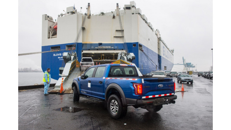 Ford starts shipping all-new F-150 Raptor to China