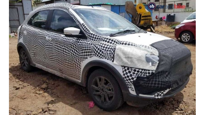 Ford Figo Cross spied launch likely early next year