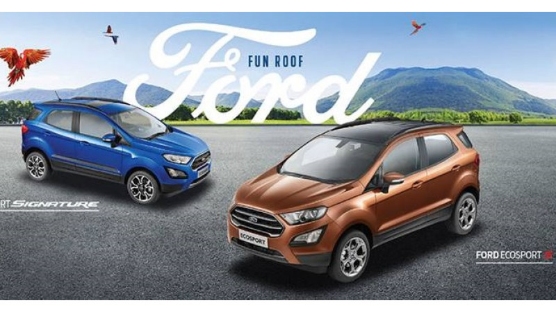 Ford to launch the EcoSport Titanium S in India on 14 May
