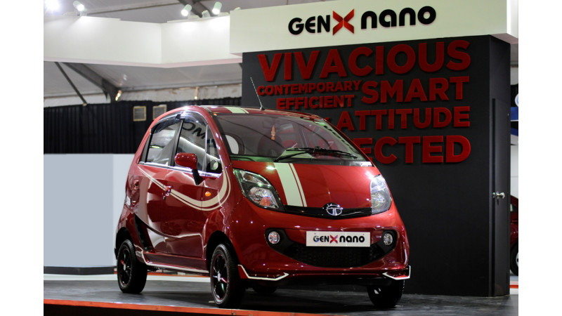 Tata Motors displays a Rally Bolt, Zippy Nano and an extreme off-road version of Safari Storme