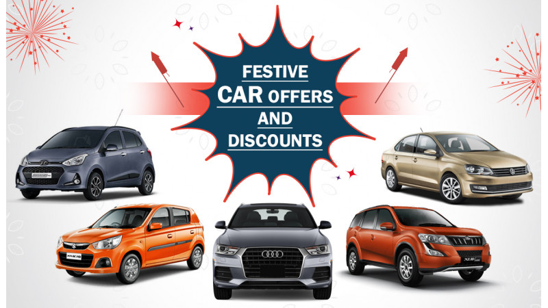 Car discounts and offers this festive season in India
