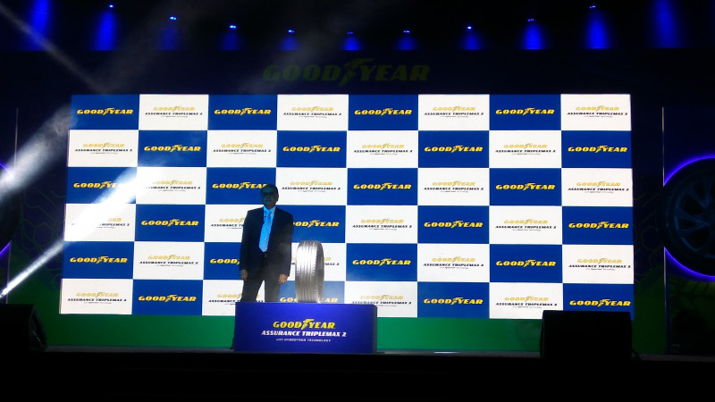 Goodyear introduces the Assurance TripleMax 2 series of car tyres in India