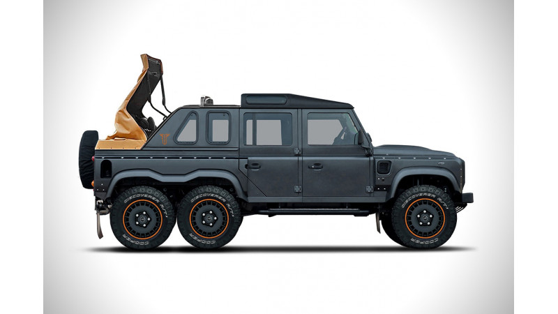 Kahn Design Flying Huntsman Soft Top teased
