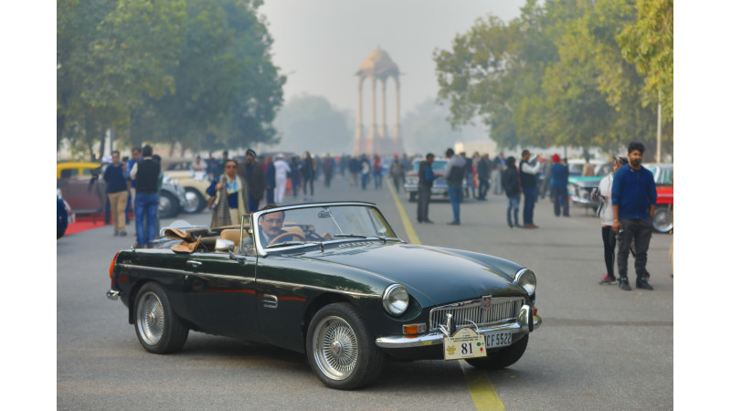 MG Motor India organises its first meet and drive in Delhi
