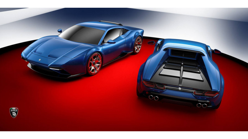 Modern day DeTomaso Pantera revealed by Ares Design