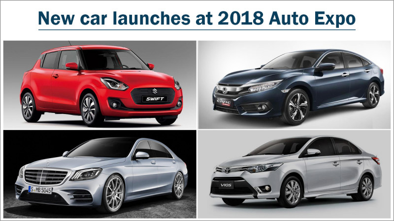 2018 Auto Expo - Expected new car launches