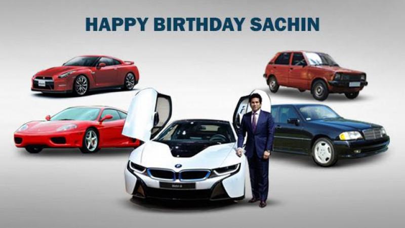 Top five cars owned by birthday boy Sachin Tendulkar