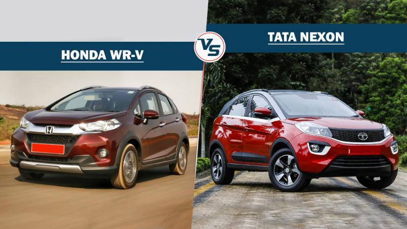 Tata Nexon Vs Honda WR-V - Spec comparison