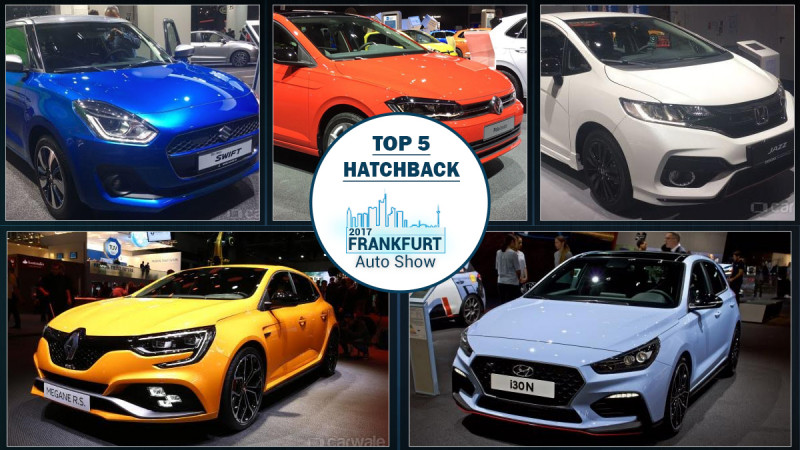 Frankfurt Auto Show 2017: Top five hatchbacks showcased