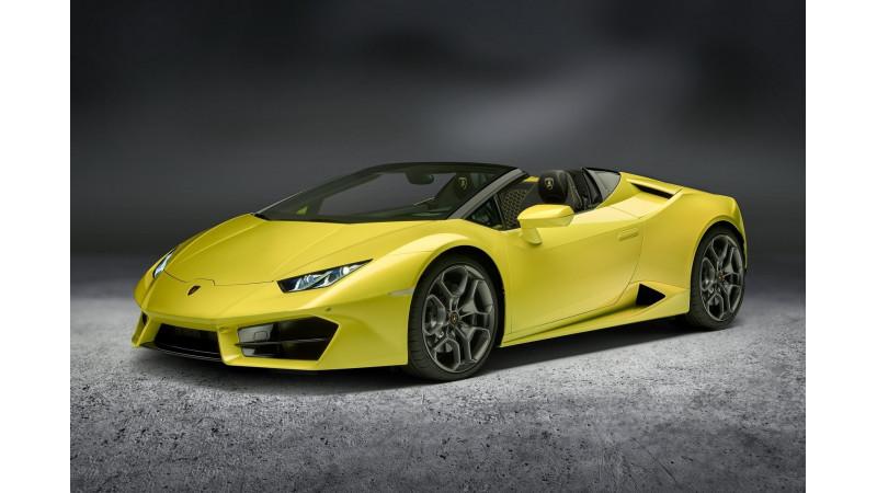 Lamborghini to launch the Huracan RWD Spyder in India on February 1