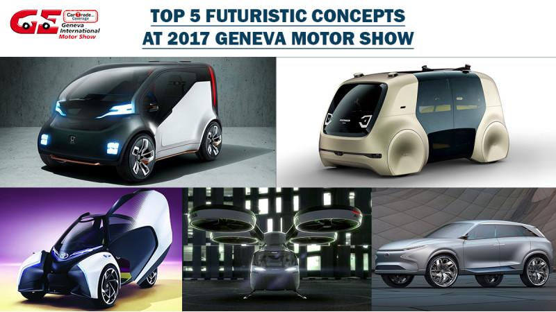 Geneva 2017: Top Five Futuristic Concepts