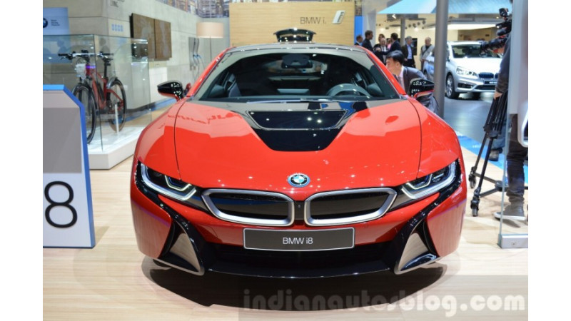 Geneva Motor Show 2016     BMW i8 Protonic Red Edition unveiled