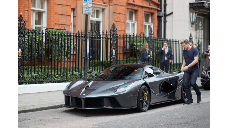 Chef Gordon Ramsay has an appetite for a La Ferrari