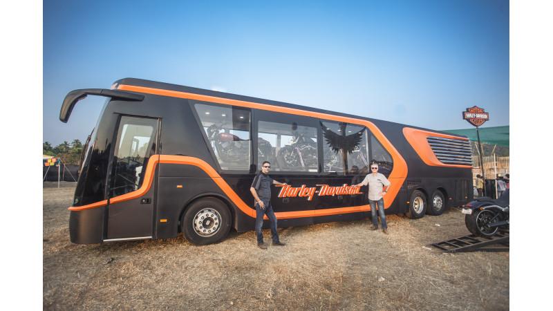 Harley-Davidson makes its first mobile dealership