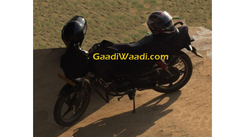 Hero Motocorp's iSmart technology based Passion 110cc motorcycle spotted