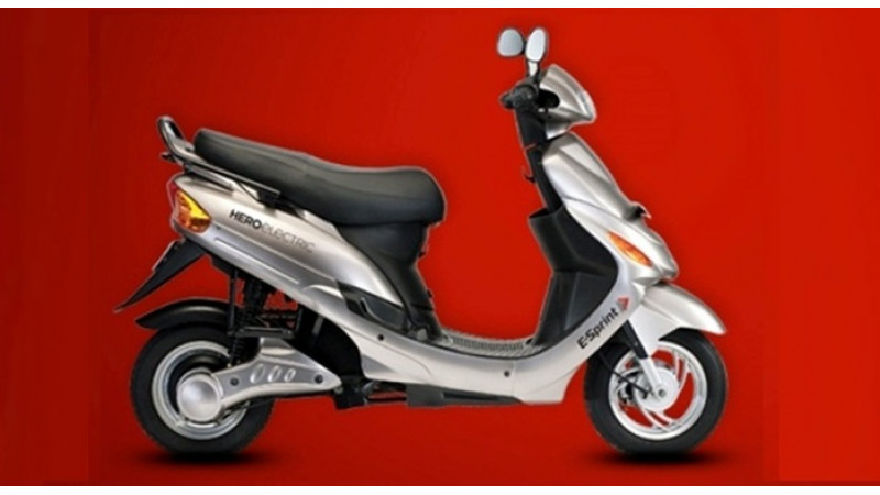 Hero Electric launches E-Sprint scooter at Rs. 54,090
