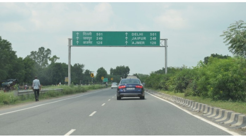 Highway advisory system pilot Project launched on Delhi-Jaipur Highway